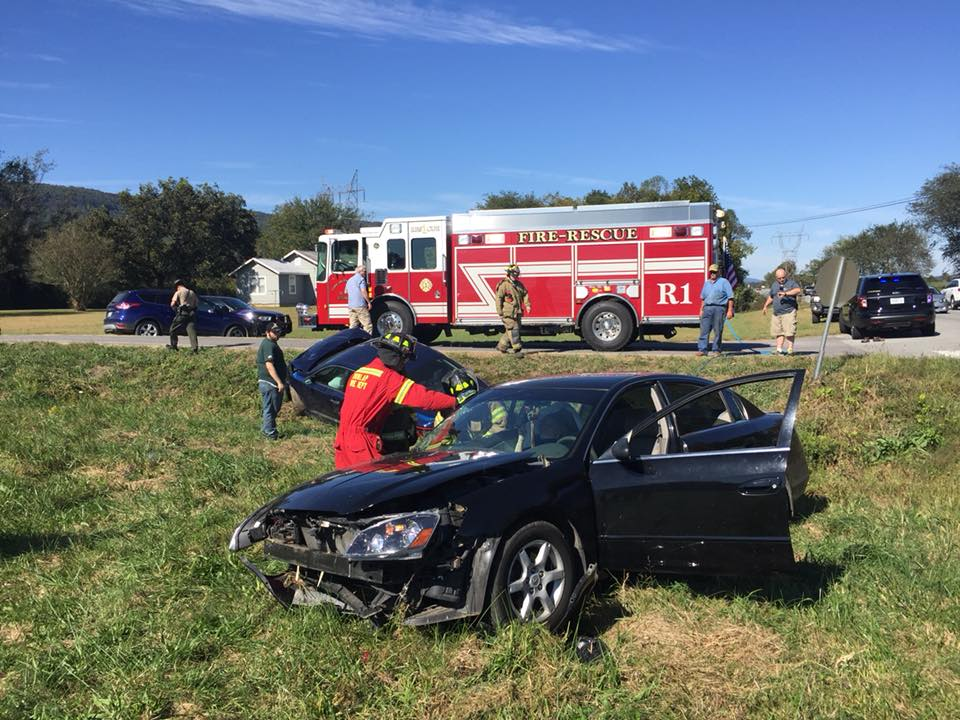 Dunlap News - Two-car accident in northeast Sequatchie County